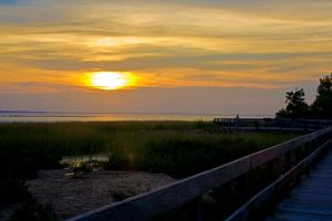 Bayside Sunset by Keith-D