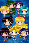 Sailor Senshi, Assemble! by RingoYan