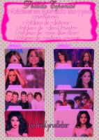 Pack de Folders - DemiL SelenaG OneDirection by AreliCyrusBieber