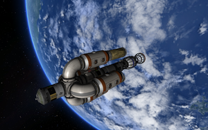 KSP Nine - Chapter II - Freighter #3 Ready by Shroomworks