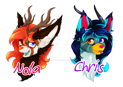 Laminated Badges by Crystalleye