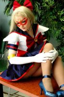 SailorV manga version by Lilian-hime