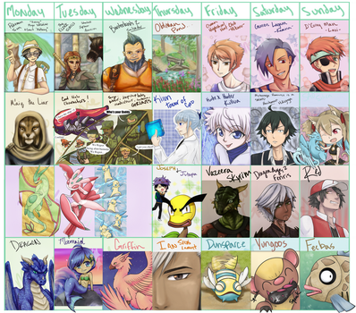 CFCAC3 FanArt Challenge -  Month in Review by DerezzedDragon