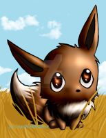 Eevee chibi by GrayWolfShadow