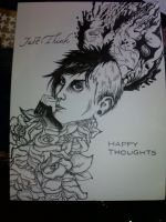 Just Think Happy Thoughts by frankwaygerardiero