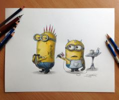 Minions by AtomiccircuS