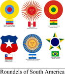 Roundels of South America by tylero79