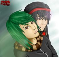 .: AT: Lily and Fin :. by Eien-no-Yoru
