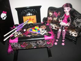 Monster High Pool Table by micaelajones