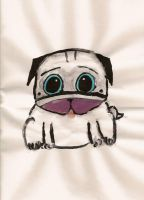 Puggy Painted by puggers
