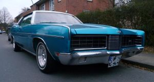 Ford LTD (1970) by someoneabletofindana