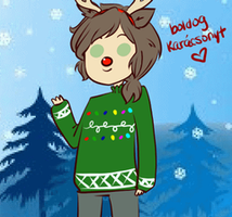 ((MERRY CHRISTMAS TO YOU BABES)) by Ask-Male-Hungary