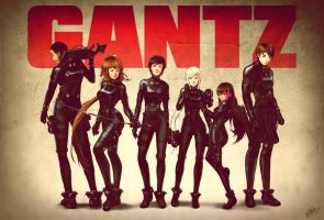 GANTZ OC Team by dCTb