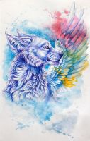 the wing of dream by wolf-minori