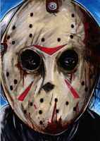 Jason Vorhees by Christopher-Manuel