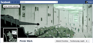 Facebook timeline by MarKomik