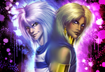 Realistic Bakura and Marik by AngelLust155
