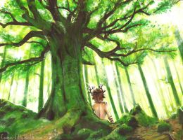 Ash Tree -Scan- by CosmosKitty