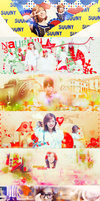 [141221] Pack Cover Sunny - Merry Christmas by ThaoPhanSone