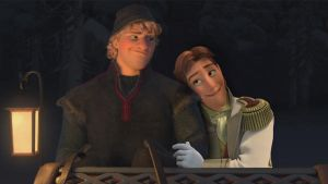 Kristoff and Hans like to go fast by cdpetee