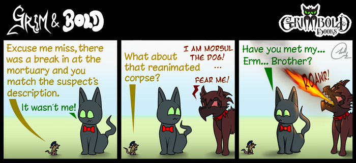 Grim and Bold COMIC 025 by JoshArtisticGenius