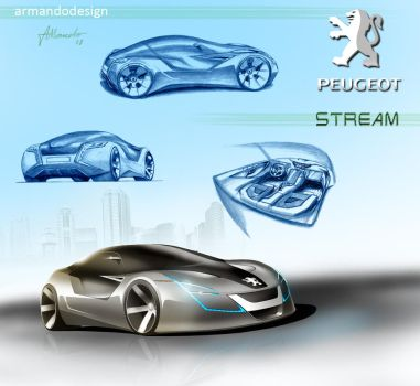 Peugeot Stream Concept by armandodesign