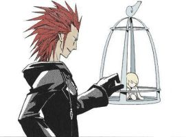 Axel and the Doll by Rescued-Doll