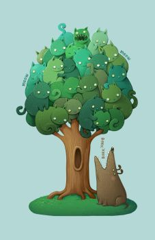Kitty Tree by room4shoes