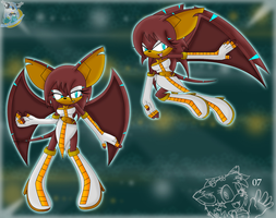 Iras The Bat alternative suit by kakyuuspark