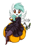 Pumpkin Spice sketch (commission) by StarshineBeast