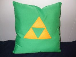 Triforce Pillow by alexiamorana