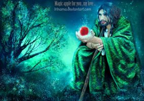 Magic apple for you by irinama