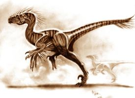 Utahraptor by ignius-fa