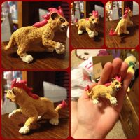 ( Lion King ) $5 Kion Custom Figure by KrazyKari