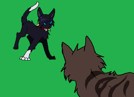 scourge fight animation by reaper-neko