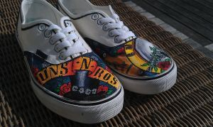 Guns N' Roses Shoes by Verspagen