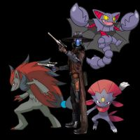 A Hunter and his Pokemon (What if situation) by JessicaBane501