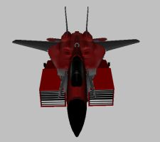 Marauder Vehical Mode front by DemoniconNemesis