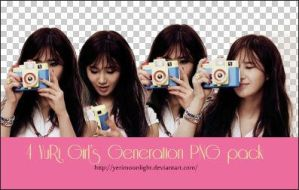 YuRi Girl's Generation PNG pack~ByYeRiMoonlight by YeRimoonlight
