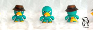 Agent P (aka) Perry the Platypus by FullerDesigns