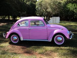 Pink Car by safhira