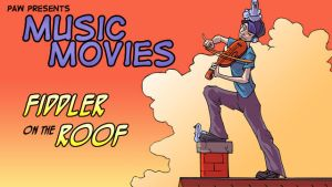 Music Movies Card- Fiddler on the Roof by Namingway