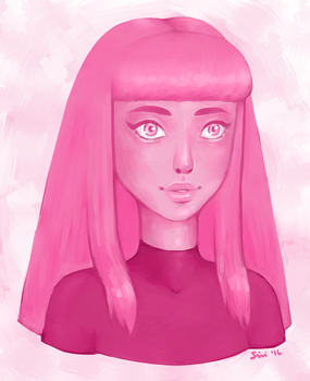 Princess Bubblegum by Mannylinn
