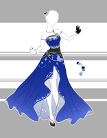.::Outfit Adoptable 32(CLOSED)::. by Scarlett-Knight