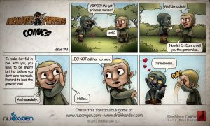 Monster of Puppets Comics #3 by doms3d