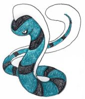 seasnake by FrozenFeather