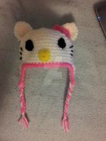 Baby Hello Kitty Beanie by xKornsFreakx