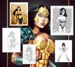 Wonder Woman Hi-res Pack by GavinMichelli