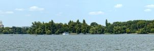 Herastrau Lake Panorama by UNBREAKABLE2005