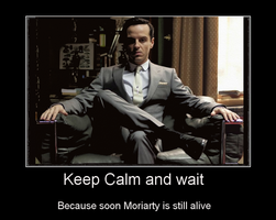 Jim Moriarty Motivator by J-Moriarty